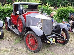 Métallurgique - 1921 Métallurgique 12-14 HP sports roadster
