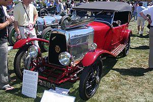 Aston Martin - 1924 tourer