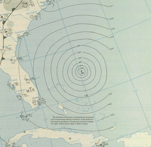 1944 Great Atlantic hurricane - Image: 1944 Great Atlantic hurricane analysis 13 September