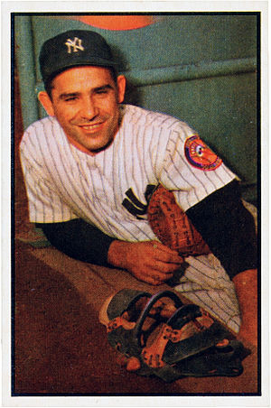 Yogi Berra - Berra with the New York Yankees in 1953
