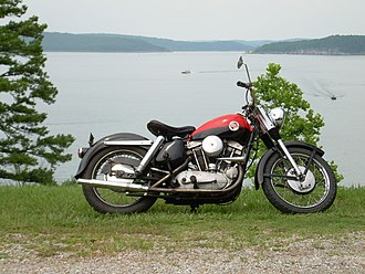 Harley-Davidson Sportster - 1957 Harley-Davidson XL Sportster