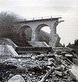 1966, ponte sul Vanoi distrutto 01.jpg