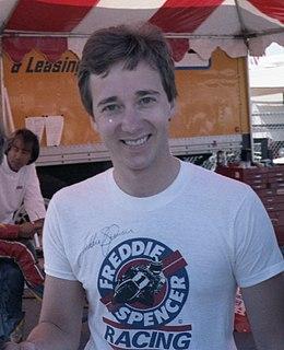 Freddie Spencer American motorcycle racer