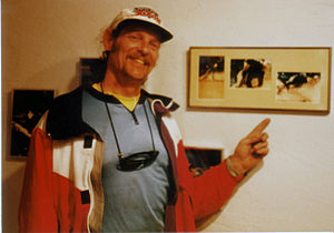 Charlie Kelly (businessman) - Charlie Kelly at Mountain Bike Hall of Fame in Crested Butte, 1989 - Photo by Patty Mooney