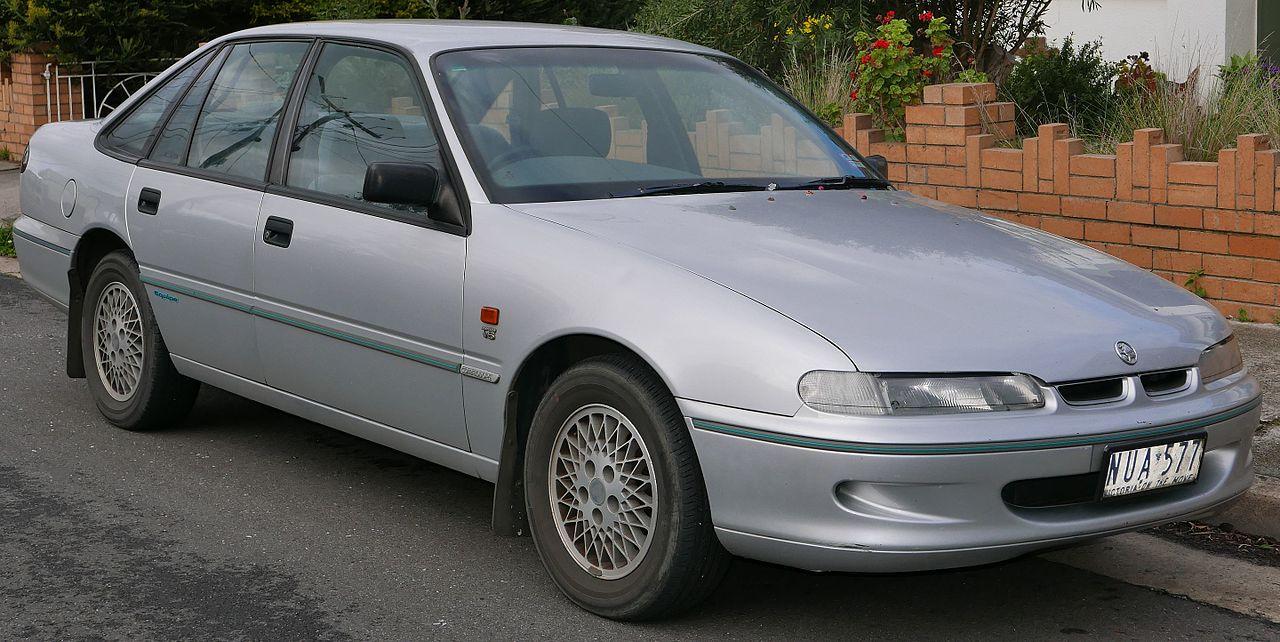 1996 Holden Commodore (VS) Equipe sedan (2015-07-15) 01.jpg