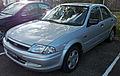 1999-2001 Ford Laser (KN) LXi sedan 04.jpg