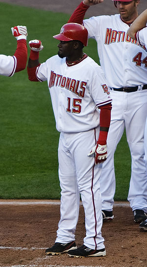 Cristian Guzmán - Guzmán with the Washington Nationals