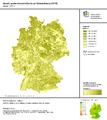 1 IÖR-Monitor Anteil Landwirtschaftsfläche an Gebietsfläche 2015 Raster 1000 m .png