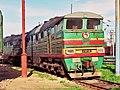 2ТЭ116-429, Russia, Lipetsk region, Yelets-Northern depot (Trainpix 194063).jpg
