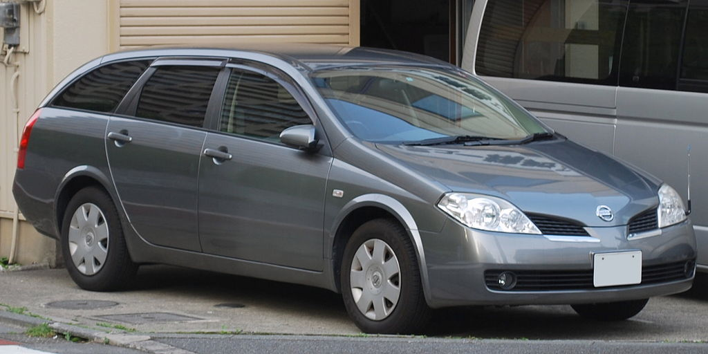 file 2003 nissan primera wagon wikimedia commons. Black Bedroom Furniture Sets. Home Design Ideas