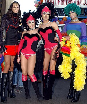 Drag queens walking in a parade in Sao Paulo, Brazil 2004-GayPrideBrazil-1.jpeg