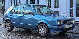 Volkswagen Citi Golf - Image: 2006 Volkswagen Citi Golf 1.4 Front
