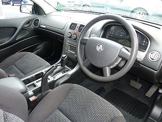 Holden Commodore (VZ) - Interior