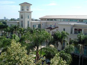 Chapman University School of Law - Donald P. Kennedy Hall, home of the School of Law