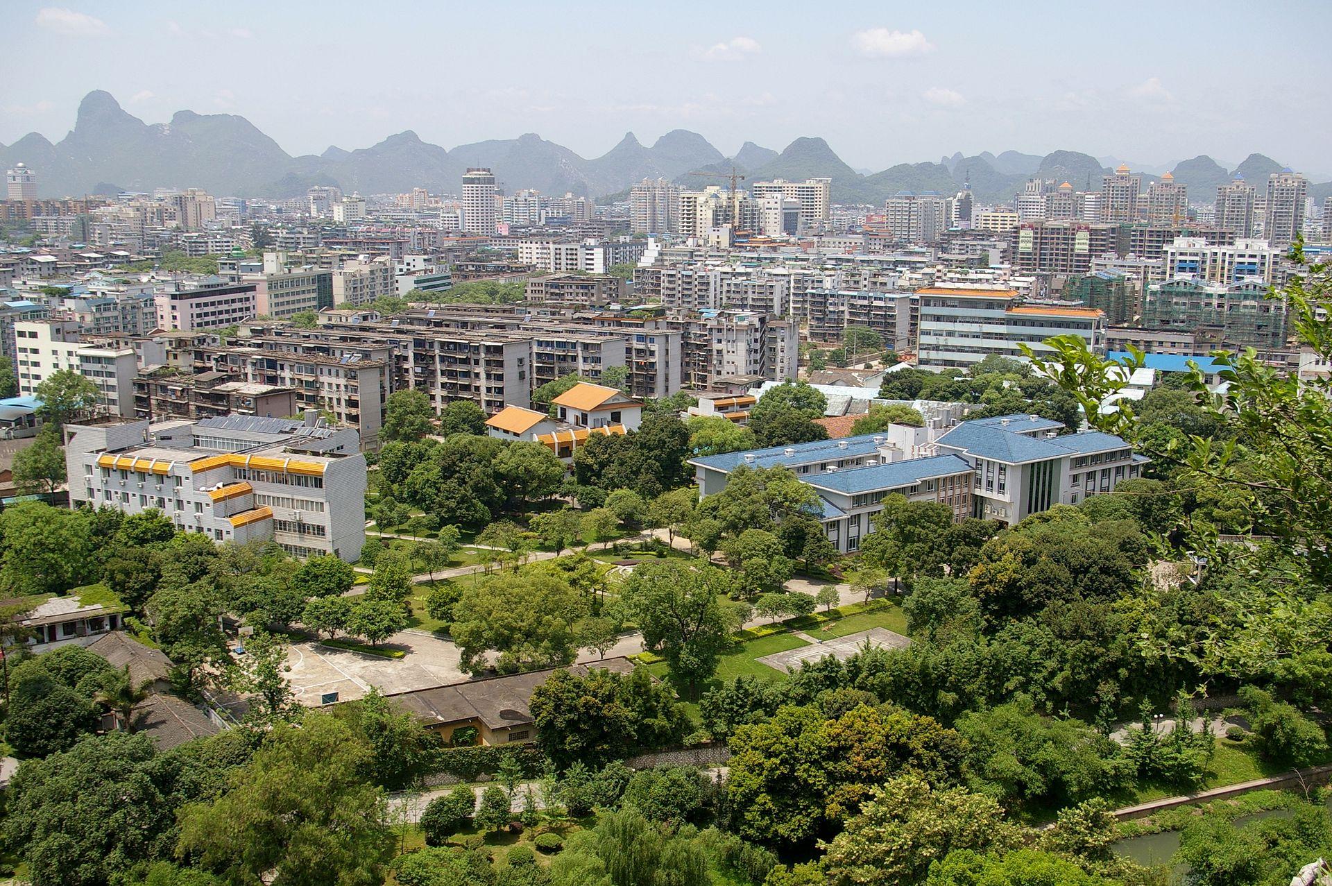 Guilin city center