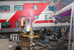 2010-01-04 Helsinki train accident carriage damage