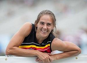 Sara Aerts - Aerts at the 2010 European Athletics Championships