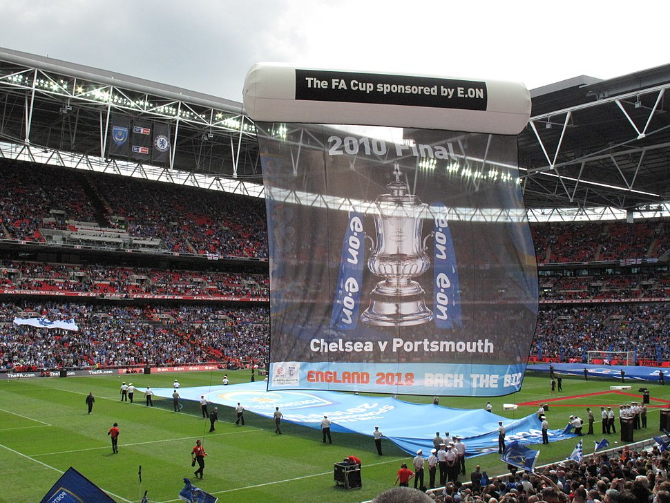 2010 FA Cup Final banner