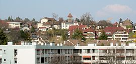 Panoramic view of Annecy-le-Vieux