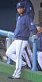 20120401 Yuuki Watanabe, infielder of the Yokohama DeNA BayStars, at Yokosuka Stadium.JPG