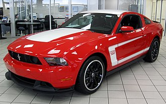 Boss 302 Mustang - Image: 2012 Ford Mustang Boss 302 coupe 11 10 2011