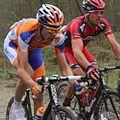 2012 Paris-Roubaix, Maarten Wynants & Thor Hushovd (6924326180).jpg