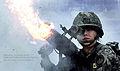 2013.3.13 육군부사관학교 여군 고폭탄 실사격 훈련 Women Soldier's live fire drill with high explosive in the noncommissioned officer school of Rep.of Korea Army (8556984338).jpg