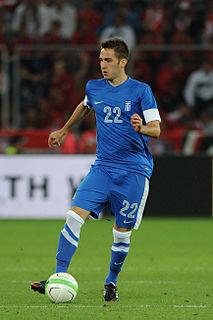 Kostas Fortounis Greek association footballer
