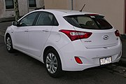 2013 Hyundai i30 (GD MY13) Active 5-door hatchback (2015-07-06) 02.jpg