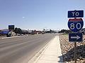 2014-06-09 14 59 14 View southwest along Idaho Street northeast of East Jennings Way in Elko, Nevada.JPG