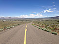 2014-06-22 13 06 37 View north along Nevada State Route 231 (Angel Lake Road) about 10.5 miles north of Angel Lake.JPG