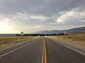 2014-07-17 18 09 19 View north along Nevada State Route 318 about 10.1 miles north of the Nye County Line in Lund, Nevada.JPG