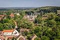 20140530 Blick über Bad Belzig und in den Naturpark Hoher Fläming mit Bahnhof IMG 8631 by sebaso.jpg