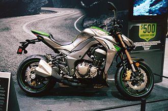 Kawasaki Z1000 - 2014 Z1000 at the Seattle International Motorcycle Show