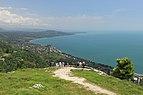 2014 Nowy Aton, Widok ze szczytu Góry Iwerskiej (05).jpg