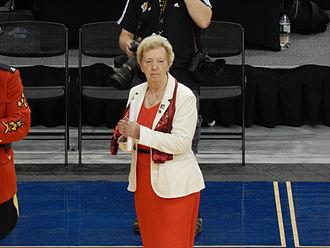2014 Women's World Wheelchair Basketball Championship - Maureen Orchard, president of the IWBF