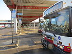 20150321 05 CTA buses @ Midway Orange Line.jpg