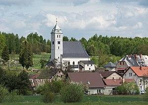 Niwa, Lower Silesian Voivodeship - Image: 2015 Kościół św. Wita w Niwie 01