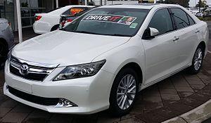 Toyota Australia - Toyota Aurion, built at the Altona plant
