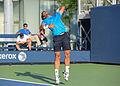 2015 US Open Tennis - Qualies - Jose Hernandez-Fernandez (DOM) def. Jonathan Eysseric (FRA) (20940900936).jpg