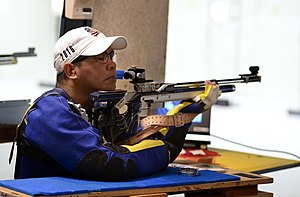 Paralympic shooting - Image: 2016 Do D Warrior Games Shooting 160619 N KV696 148