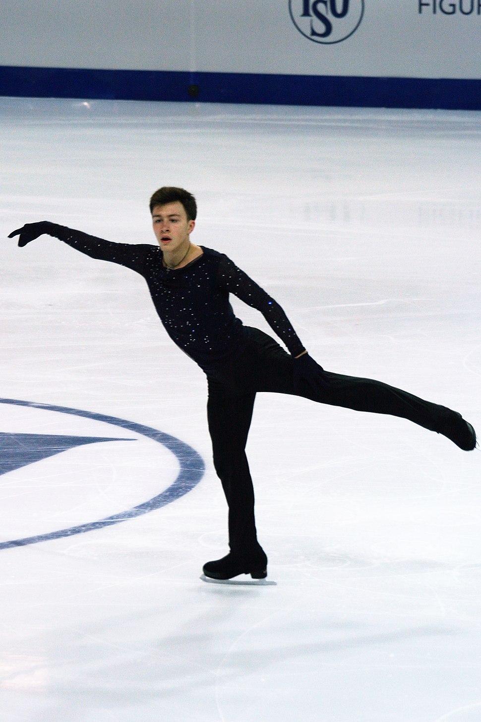 2016 Grand Prix of Figure Skating Final Dmitri Aliev IMG 3692