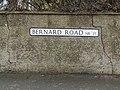 2018-03-31 Street name sign, Bernard Road, Cromer.JPG