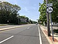 2018-05-25 14 22 26 View north along New Jersey State Route 36 (Navesink Avenue) just north of Monmouth County Route 8 (Bay Avenue) in Highlands, Monmouth County, New Jersey.jpg