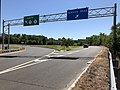 2018-07-19 10 37 15 View north along New Jersey State Route 17 at the Service Road exit in Lyndhurst Township, Bergen County, New Jersey.jpg