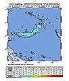 2018-10-11 Kimbe, Papua New Guinea M6.1 earthquake shakemap.jpg