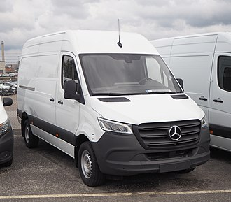 Mercedes-Benz Sprinter - 2018 Mercedes-Benz Sprinter (Third generation)