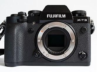 Fujifilm X-mount - X-mount on Fujifilm X-T3 camera