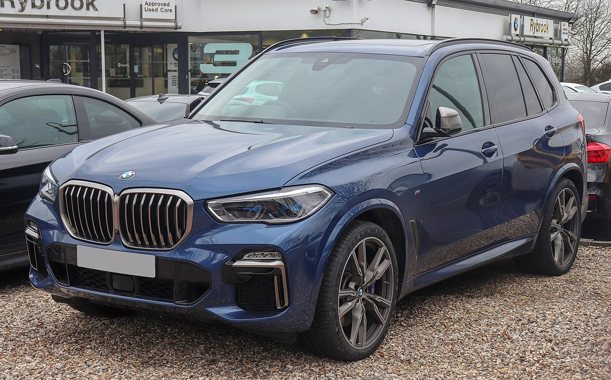2018 Bmw X5 Gets Diesel Engines And New Design >> Bmw X5 Wikipedia
