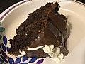 2020-12-24 18 34 05 A slice of chocolate Christmas cake in the Franklin Farm section of Oak Hill, Fairfax County, Virginia.jpg